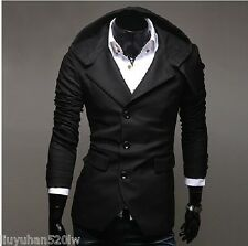 Good men hooded suit Slim Hooded men suits classic design