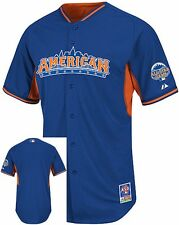 American League Authentic Majestic 2013 All Star BP Jersey Adult Sizes