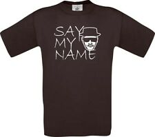 T-Shirt Breaking Bad Say My Name? Bad White Staffel ManT04203