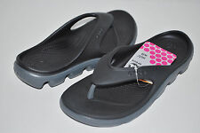 NWT CROCS DUET SPORT FLIP FLOPS BLACK GREY 4 5 6 7 8 9 10 11 12 men women UNISEX