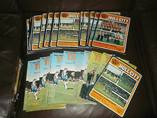 Hull City home programmes 1978/79 - 79/80