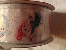 Wired Edge Holiday/Christmas Ribbon  by the Bolt- 50 yards- Huge Selection