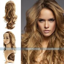 "18-28"" New high quality Gold Body wave lace front full wig Synthetic Hair"