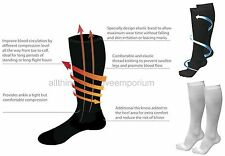2 Pairs Compression Socks 4 Varicose Veins,Circulation...Superb to Miracle Socks