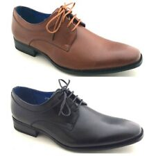 Mens New Formal Italian Lace Up Office Dress Party Suede Look Shoes Size 6 - 11