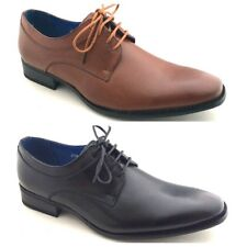 Mens New Formal Italian Lace Up Office Dress Party Casual Look Shoes Size 6 -11