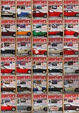 THE ENCYCLOPEDIA OF SUPERCARS MAGAZINE - CHOOSE YOUR ISSUE - ORBIS SUPER CARS 1