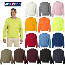 JERZEES Mens NuBlend SUPER SWEATS Crewneck Sweatshirt Crew S-3XL 4662MR-4662