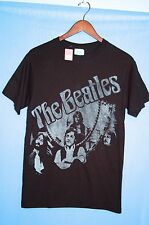 Beatles Reflection MEN'S NEW T SHIRT NWT Fab Four John Paul George Ringo Clocks