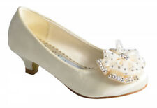 Infant Girls Party Wedding Dress Low Heel Ballerina Shoe Size 10 11 12 13 1 2 3