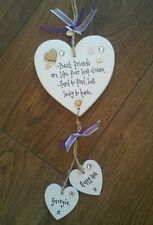 Shabby Best FRIEND Present  Personalised ♥ 18th 21st 30 40 50th birthday Plaque