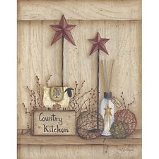 Art Print, Framed or Plaque by Mary Ann June - Country Kitchen - MARY269