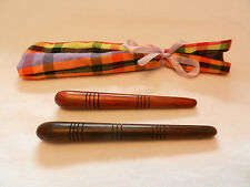 Thai Massage Tool Wooden Stick Wand Pen Traditional Hand Foot Therapy Treatment