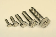 M4 Stainless Steel  Hex Head Set Screw Bolts Choose Your Size / Qty