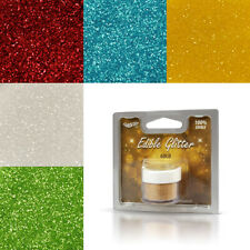 EDIBLE Glitter Rainbow Dust Cake Decorating Cupcake Sparkle 24 Colours 5g Net