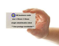 SINGLE SIDED /DOUBLE SIDED Colour Business/Visiting Cards Printed on 350gsm