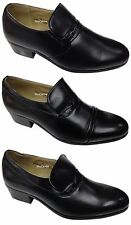 MENS Smart Shoes Cuban Heels Formal Wedding Dress Party Office DINNER Suit Size