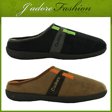 NEW MENS FLAT NOVELTY  COOLERS HARD SOLE MULES CLOGS SLIPPERS SIZES UK 7-12