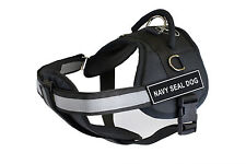 DT Works Chest Support Dog Harness with Velcro Patches NAVY SEAL DOG