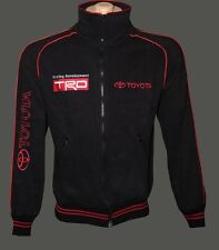 Toyota fleece jacket / jacke / parka / blouson - embroidered logos / TRD