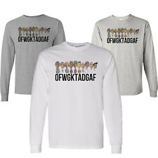 OFWGKTA Golf Wang Wolf Gang Tyler Creator Odd Future Cartoon Long Sleeve Shirt