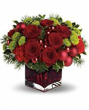 Teleflora's Merry & Bright T125-1A - Flower Delivery Christmas Flowers