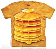 Big Stack of Pancakes The Mountain Adult Size T-Shirts