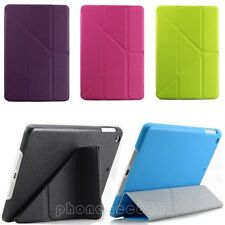 Leather Case Cover Smart Wake/Sleep for iPad Mini 2 with Retina Display Stand