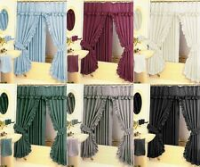 SHOWER CURTAIN WITH LINER 5 DIFFERENT COLORS FREE SHIP BRAND NEW ELEGANCE!!!!!!