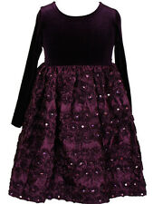 Girl christmas holiday pageant crowing dress  purple size 4, 5, 6