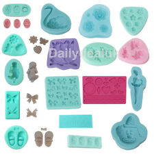 Silicone Polymer Clay Mould Mold for Fondant Sugarcraft Chocolat Cake Decorating