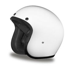 Daytona Cruiser 3/4 Open Face Helmet - Gloss White - ALL SIZES SHIP FREE