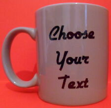 Personalised Custom Sticker Design Your Own Gift Mug Glass (Mugs NOT Included)