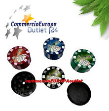 GRINDER TRITATABACCO TRITA TABACCO COLT 52mm IN METALLO IN 3 PARTI IDEA REGALO