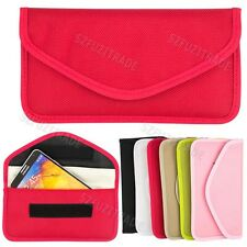 RF Signal Blocker Jammer Bag Case for iPhone 5S 5 4S Samsung Galaxy NOTE 3 Phone