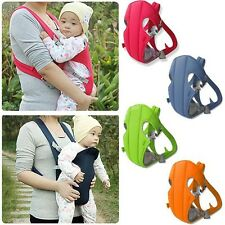 New born infant baby carrier backpack front back rider sling comfort warp bag j