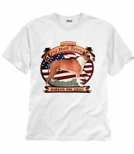 THE AMERICAN PIT BULL TERRIER DOG T-SHIRT WHITE S M L XL