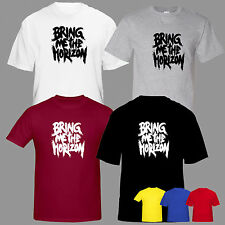 BRING ME THE HORIZON INSPIRED TSHIRT TEE TOP  MUSIC ROCK OLIVER TATTOOS TOUR
