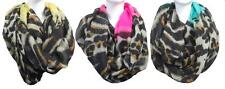 New Womens Glitz Scarf Collection Fashion Infinity Chevron Scarves Leopard