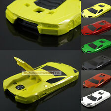 3D Luxurious Race Sports Car Hard Plastic Case Cover Skin For IPHONE SAMSUNG