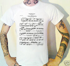 Mozart Sheet Music T-Shirt. Wolfgang Amadeus Classical Music Sonata No. 10