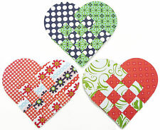Hopefish Christmas Craft: Make Woven Paper Heart  Decorations: Kits for 6 or 30