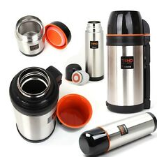 A-E Type Selection Vacuum Stainless Steel Coffee & Soup Bottle Thermos HOT/COLD