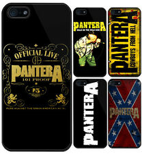 PANTERA Heavy Metal Band Apple iPhone 5 5S Case Cover New Gift - 5 Type