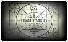 Fallout Please Stand Up Old TV Style Vinyl Sticker (bumper, window, xbox, ps4)