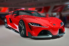 Poster of Toyota FT-1 FT1 the next Supra Super Car HD Print