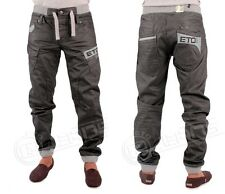 MENS NEW ETO EM410 DESIGNER CUFFED JOGGER JEANS RRP 44.99 NOW £29.99 SALE PRICE