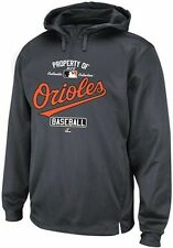 Baltimore Orioles Majestic Authentic Property Of 1/4 Zip Hoodie Big & Tall Sizes