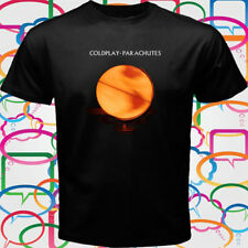 New Coldplay - Parachutes Men's Black T-Shirt Size S-3XL