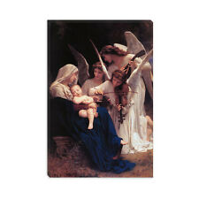 Song of The Angels William-Adolphe Bouguereau Canvas Print Painting Reproduction